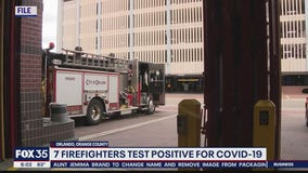 7 Orlando firefighters test positive for coronavirus