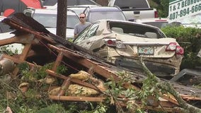 Weekend of storms, tornadoes leave at least 40 people displaced and nearly $1 million in damage
