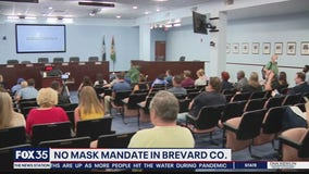 Brevard County rejects vote on mask