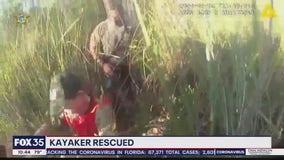 Kayaker rescued in Flagler County