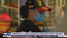 Seminole County mask mandate goes into effect Wednesday