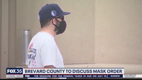 Brevard County to discuss mask order