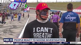 People who react to noose investigation