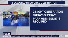 SeaWorld hosting 3 nights of fireworks