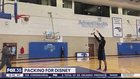 Orlando Magic packing for Disney and cautious of COVID-19