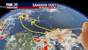Saharan Dust Will Continue For Weeks