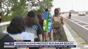 George Floyd protests continue in Flagler Beach