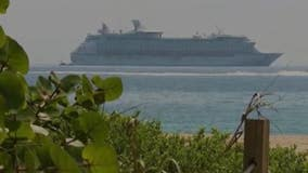 More than 30,000 cruise ship workers stuck at sea because of coronavirus