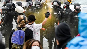 Use of force criticized in protests about police brutality