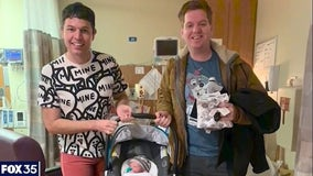 Central Florida couple adopts baby over Zoom
