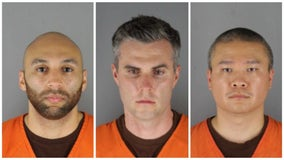 Judge: $750K bail for 3 ex-officers accused in George Floyd's death