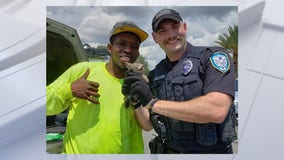 Good Samaritan, Winter Park police officers rescue kitten trapped in car engine