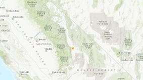 A 5.8M earthquake shook between the Sequoia and Death Valley National Parks
