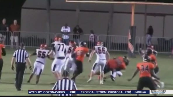 High school football players react to George Floyd's death, protests