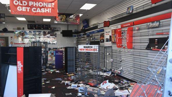 Looting devastates businesses already shaken by virus