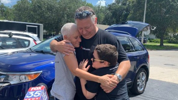 Orange County tornado victims settling into new home after outpouring of support