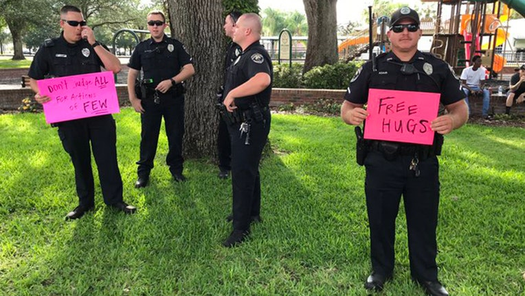 auburndale police during protests