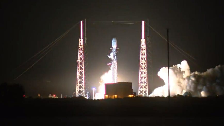 SpaceX launches Falcon 9 carrying another batch of Starlink satellites