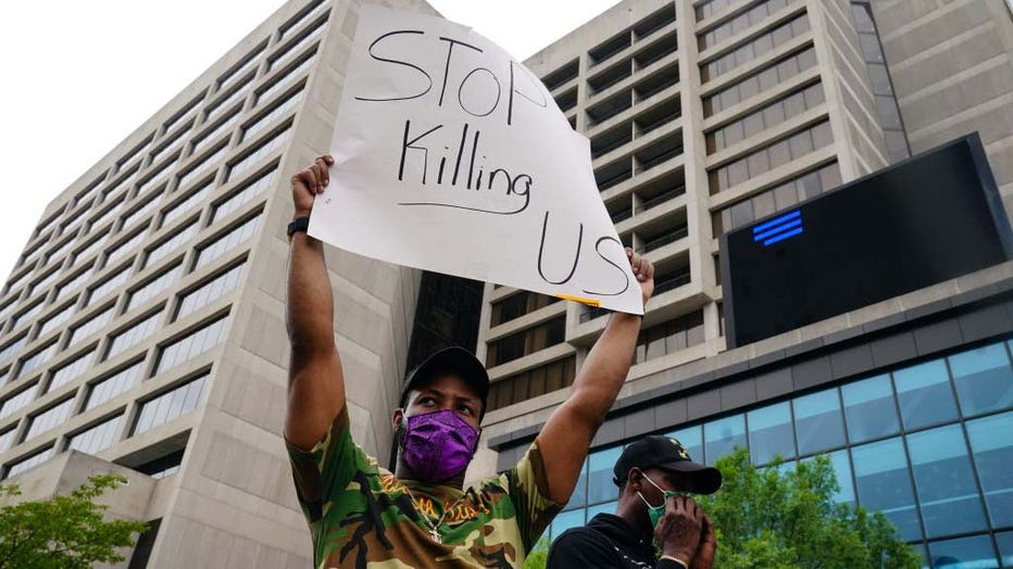 6cafb33e-Black Lives Matter Protests Held In Cities Nationwide