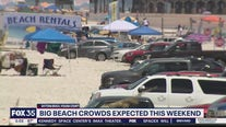 Big beach crowds expected this weekend