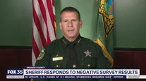 Sheriff Mina responds to negative survey results
