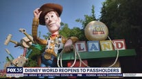 Disney World reopens to passholders