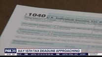 July 15 tax deadline approaching