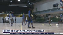 Orlando Magic hold third practice at Disney