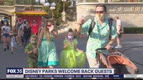 Disney parks welcome back guests