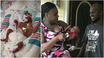 Extreme preemie comes home to Jonesboro for first time