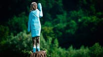 Melania Trump statue in Slovenia set on fire on Fourth of July; suspects sought