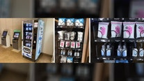 PPE-filled vending machines installed at Orlando International Airport for travelers
