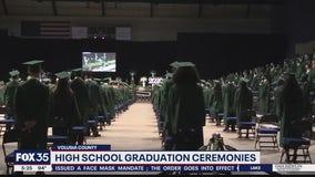 High school graduation ceremonies held in Volusia County
