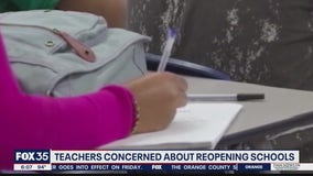 Teachers concerned about returning to classroom