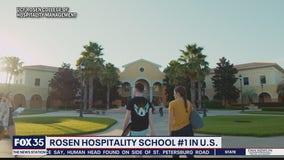 UCF Rosen College of Hospitality Management tops university ranking