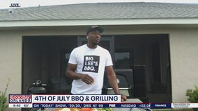 4th of July BBQ and grilling