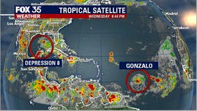The tropics are active, 2 systems are being tracked