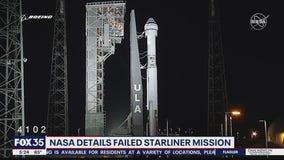 NASA details failed Starliner mission