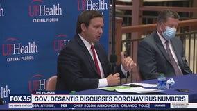 Gov. DeSantis discusses coronavirus numbers