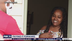 Paying it Forward: Unexpected twist as church rewards 2 in need