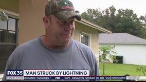 FOX 35 Exclusive: Man who helped save lightning strike victim speaks