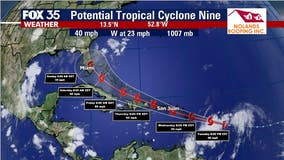 NHC issuing advisories on Potential Tropical Cyclone in the Central Atlantic