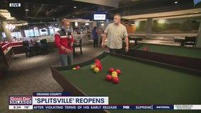 David Does It: Splitsville reopens