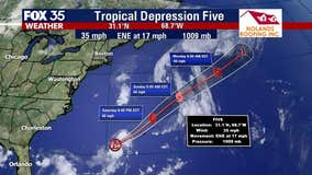 Tropical Depression 5 forms in the Atlantic, poses no threat to Florida