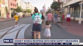Disney World reopens with new safety measures