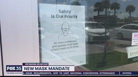 New mask mandate in West Melbourne
