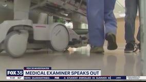 Medical Examiner explains COVID-19