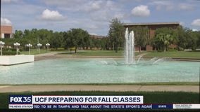 UCF Preparing for fall classes