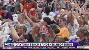 Daytona Beach Bandshell reopening