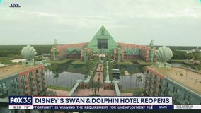 Disney's Swan and Dolphin Hotel reopens